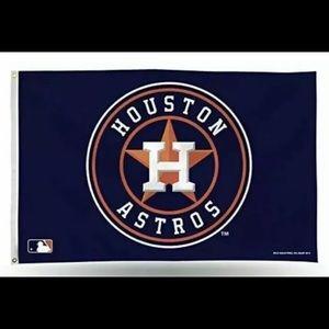 Houston Astros 3x5 ft Flag Banner Brand New Quick